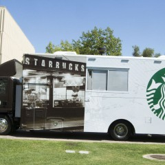 Starbucks Food Trucks Go College Campus