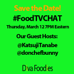 """DivaFoodies #FoodTVchat"""