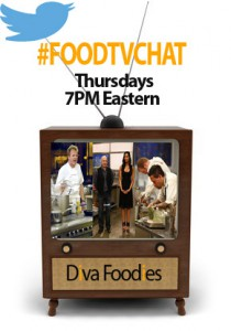 #FoodTVChat Schedule