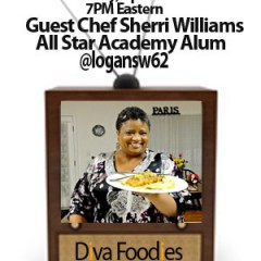 #FoodTVChat with Sherri Williams