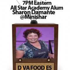 #FoodTVChat with Sharon Damante