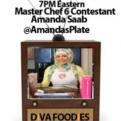 #FoodTVChat with Amanda Saab
