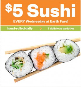 Earth Fare Sushi