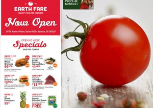 Earthfare opening specials