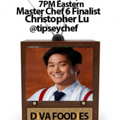#FoodTVChat with Christopher Lu