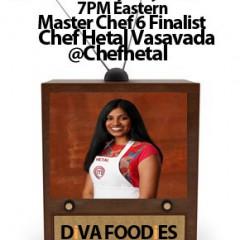 #FoodTVChat with MasterChef Finalist Hetal Vasavada
