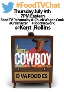 """#foodtvchatwithkentrollins"""