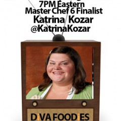 #FoodTVChat with Katrina Kozar