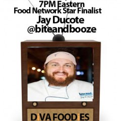 Recap #FoodTVChat with Jay Ducote