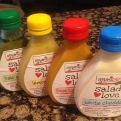 Tasting OrganicGirl Salad Blends & Dressings