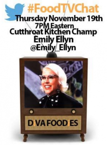 Chef Emily Ellyn #FoodTVChat