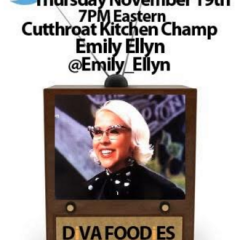 #FoodTVChat with Emily Ellyn