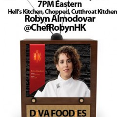 #FoodTVCHAT with Robyn Almodovar