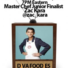 #FoodTVChat with Zac Kara