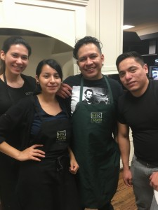 Hal's Kitchen Staff