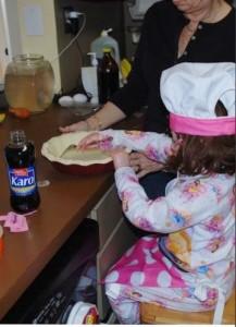 Ellie _ Diva Foodies Kid Chef _ Baking with Grandma