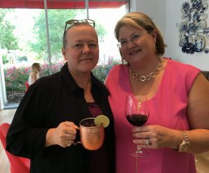 Linda Carmical and Melissa Pelsky-Hass Diva Foodies