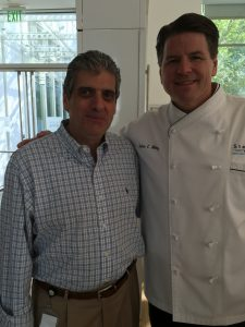 Alex Polazzo and Executive Chef John Metz