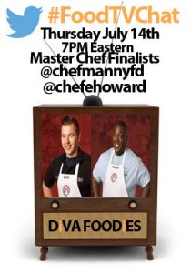 """#FoodTVChat with the Firefighters of Master Chef 7"""