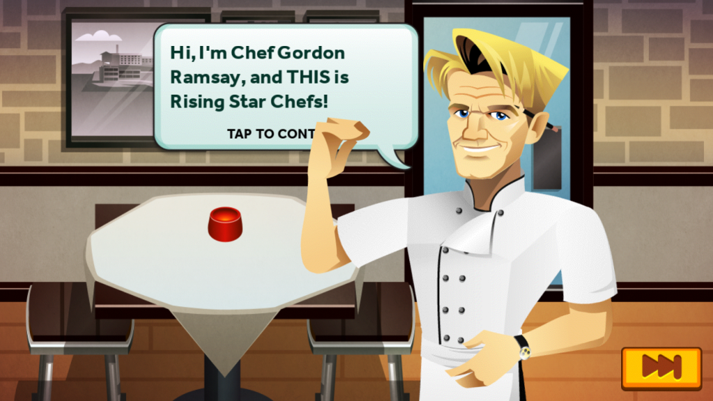 Diva Foodies Gordon Ramsay Dash