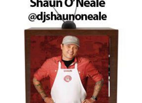 #FoodTVChat with Shaun O'Neale