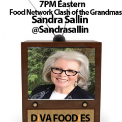 #FoodTVChat with Sandra Sallin