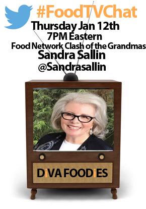 #FoodTVChat with Sandra Sallin