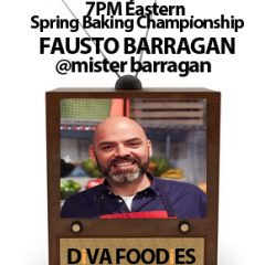 #FoodTVCHAT with Fausto Barragan