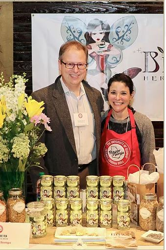 Biron Healthy Teas - Founders, Andi and Roland Biron
