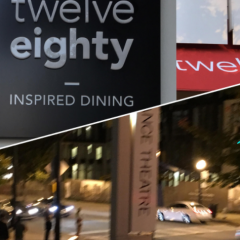 Atlanta's Twelve Eighty Restaurant 2017 Spring/Summer Food Blogger Tasting