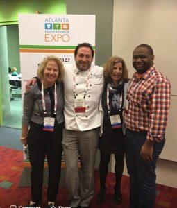 Marianne, Chef Alexis Hernandez, Toby, Chef Dwayne Ingrahm