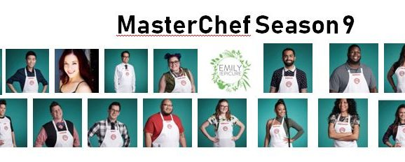 MasterChef Season 9 Cheat Sheet