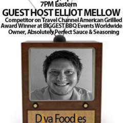 #FoodTVChat With Guest Host Elliot Mellow