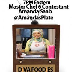 #FoodTVChat with MasterChef Finalist Amanda Saab