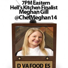 #FoodTVChat with Chef Meghan Gill