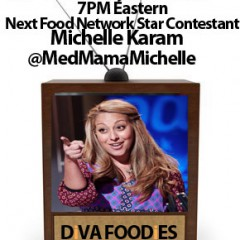 #FoodTVChat with Chef Michelle Karam