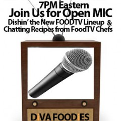 #FoodTVChat Open Mic Night