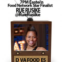 #FOODTVCHAT with Rue Rusike