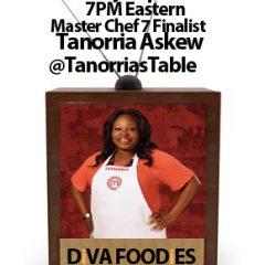 #FoodTVChatTanorria Askew
